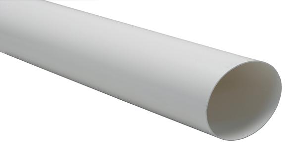 Труба водосточная NORDSIDE 125 мм/ 3 м, белый