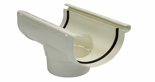 Воронка желоба NORDSIDE 125/100 мм, белый