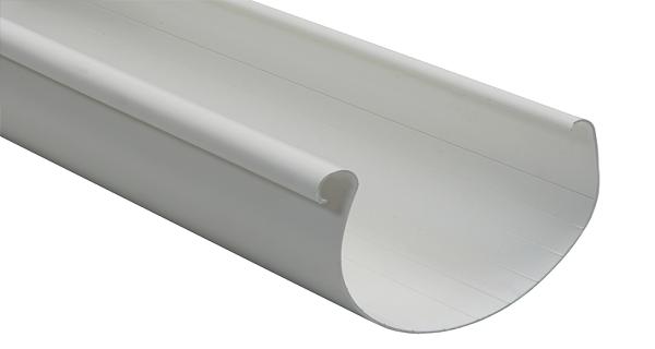 Водосточный желоб NORDSIDE 125 мм/3 м, белый