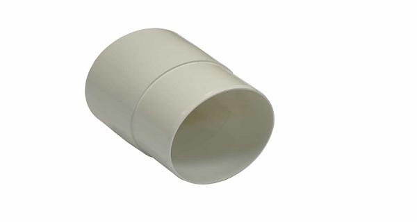Муфта желоба NORDSIDE 125 мм, белый