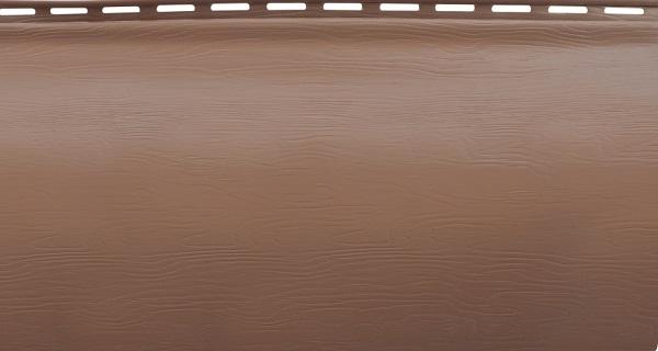 Блок-хаус однопереломный красно-коричневый