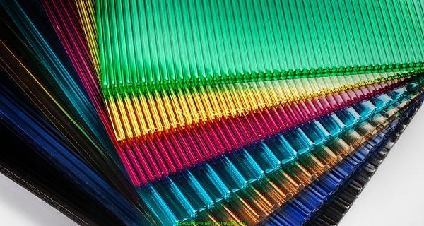 Поликарбонат ROYALPLAST 6,0*2,1 м, цветной, толщина 8 мм