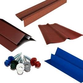 Комплектующие для кровельных материалов и крыши