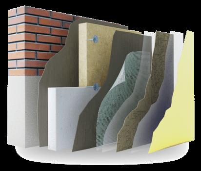 Утепление фасадным материалом