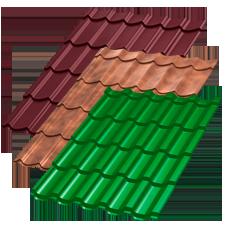 Виды металлочерепицы на крышу