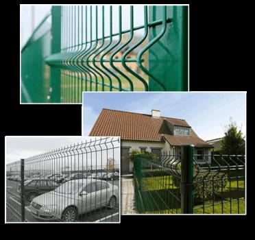 Где применяется 3D забор