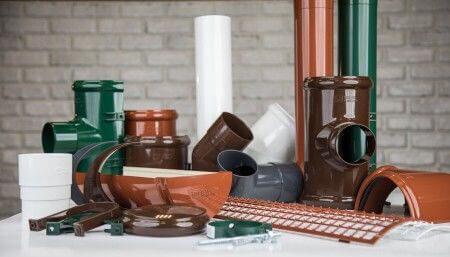 Материалы изготовления водосточных систем